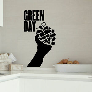 Image Is Loading GREEN DAY LARGE KITCHEN BEDROOM WALL MURAL GIANT