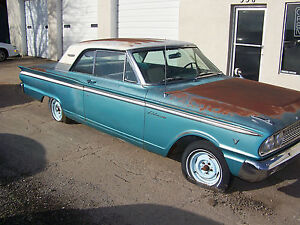 Image Is Loading 1963 63 Ford Fairlane 500 2 Door Hardtop