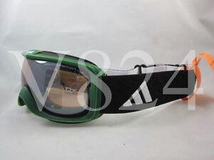 d9035bb96276 ADIDAS A 182 ID2 PURE Snow Ski Google green washed LST Bright mirror ...