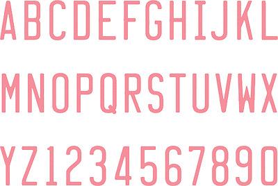 "Quickutz ""4 x 8 LICENSE PLATE  Mini Alphabet Set"""