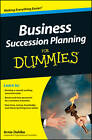 Business Succession Planning For Dummies by Arnold Dahlke (Paperback, 2012)