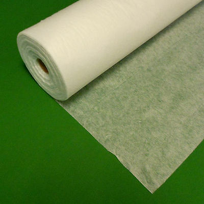 Iron On Fusible Interfacing Light Weight 2m metre - White Black Charcoal Fusing
