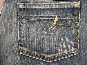 DIESEL-BEBEL-70Z-WOMENS-STRAIGHT-LEG-JEANS-SIZE-25x30-NEW-MADE-IN-ITALY