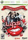 Lips: Number One Hits (Microsoft Xbox 360, 2009, DVD-Box)