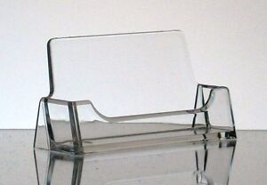 New-CLEAR-Acrylic-Desktop-Business-Card-Holder-Display