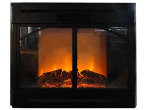 New-Black-Electric-Firebox-Fireplace-Insert-Room-Heater-7R-71-28-034-GTC