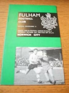 12101968 Fulham v Norwich City   No obvious faults - <span itemprop=availableAtOrFrom>Birmingham, United Kingdom</span> - Returns accepted within 30 days after the item is delivered, if goods not as described. Buyer assumes responibilty for return proof of postage and costs. Most purchases from business s - Birmingham, United Kingdom