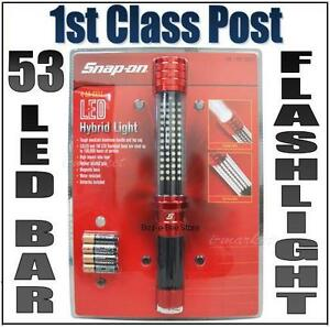 SNAP-ON-TOOLS-HYBRID-53-LED-LIGHT-BAR-PANEL-FLASHLIGHT-MECHANIC-INSPECTION-TORCH