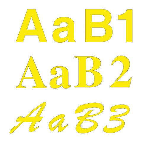 Cifras Cartas Adhesivos Letras Corte Personalizada Adhesivo Vinilo 12CM