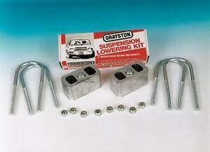 "Ford 1.5"" (37mm) Suspension Lowering Kit Escort/Capri Etc for Road, Race & Rally"
