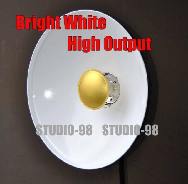 "22"" BEAUTY DISH SOFT LIGHT REFLECTOR for BOWENS + GRID + 3 DEFLECTORS + 3 SOCK"