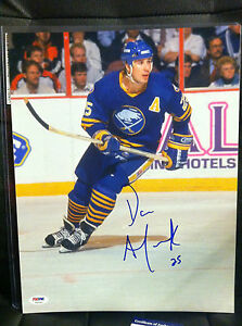DAVE ANDREYCHUK Auto Autograph Signed 11x14 Photo Picture Buffalo Sabres PSA/DNA
