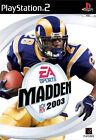 Madden NFL 2003 (Sony PlayStation 2, 2002, DVD-Box)