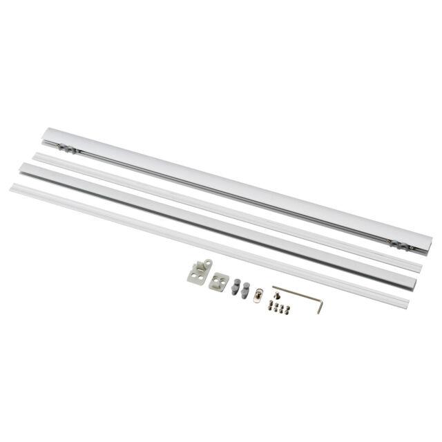IKEA KVARTAL Top and Bottom Rail for Window Panel Curtain System New NIP