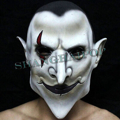Dracula Vampire Mask Universal Classic Monsters Halloween Rubber Latex Adult New