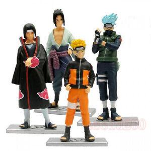 NEW-Naruto-Shippuden-Itachi-Kakashi-Sasuke-4-Figure-Set