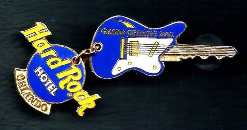 Hard Rock Hotel ORLANDO Grand Opening 2001 Pin. RARE