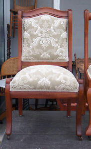 Cherry-Sidechair-Parlor-Chair-elegant-cream-print-SC100