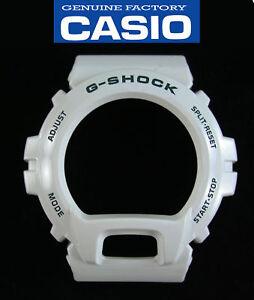 Genuine-Casio-G-Shock-DW-6900R-watch-band-bezel-White-case-cover