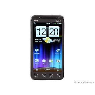 HTC  EVO 3D - 1 GB - Black - Smartphone