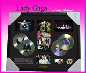 LADY-GAGA-CD-MEMORABILIA-LIMITED-EDITION-499-W-COA