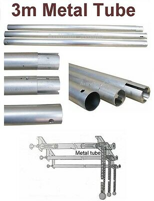 Metal Cross Bar Tube for Roller Backdrop Support System
