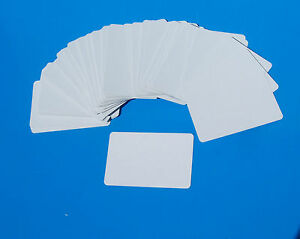 BLANK CARDS 100x blank both sides flash cardssight amp learning game play ID - <span itemprop='availableAtOrFrom'> Devon, United Kingdom</span> - BLANK CARDS 100x blank both sides flash cardssight amp learning game play ID -  Devon, United Kingdom