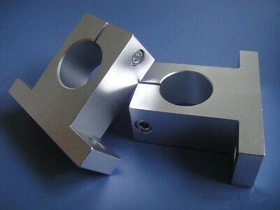 (2)SK-16 Bearing CNC Aluminum Rail Linear Motion Shaft Support Series Slide