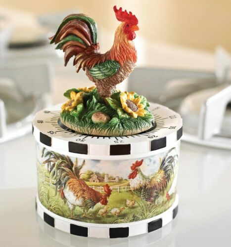 Rooster Décor Collection On EBay