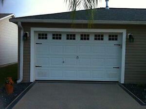 Carriage Door Style 2 Garage Door Decal 10 Quot X15 Quot Windows