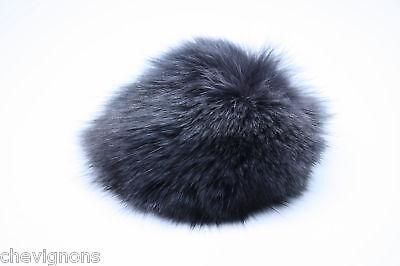 Genuine Fox Fur Ball Charm Key Chains