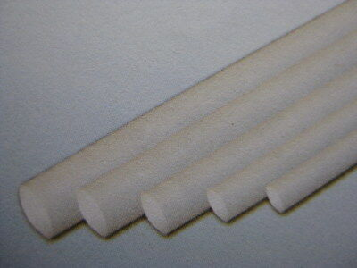 60 x Styrene ABS Rods 500mm High Quality #ABS04