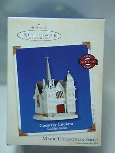 2002-HALLMARK-Country-Church-Candlelight-Services-5-in-Series