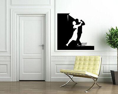 Tango Ballroom Dance Wall MURAL Vinyl Art Sticker M054