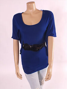 Stunning-Jane-Norman-Azure-Blue-Tunic-Top-Size-6-8-10-12-14-16-BNWT-RRP-28