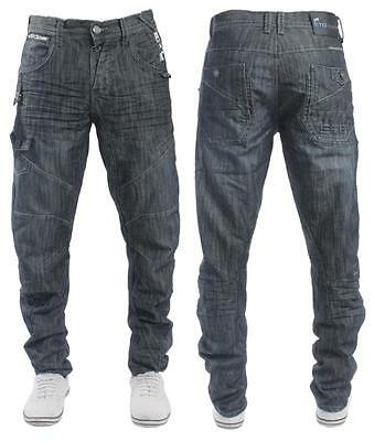 NEW LATEST MENS ETO 9901 EM220 DARK WASH TWISTED LEG EANS   >>RRP£45. <<