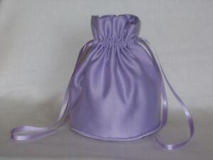 BNWOT-Pale-lilac-duchess-satin-dolly-bag-for-bridesmaid-eveningwear
