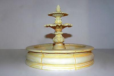 Dollhouse Accessory  Water Fountain for Village Nativity Creche Diorama