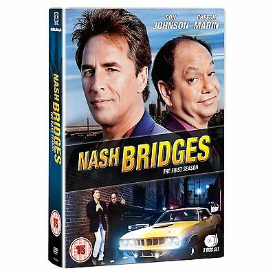 Nash Bridges: Complete Series 1 - DVD NEW & SEALED (3 Discs)      (first season)