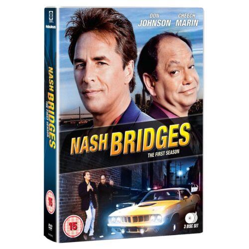 Nash Bridges: Complete Series 1 - DVD NEW & SEALED (3 Discs)      (first season)