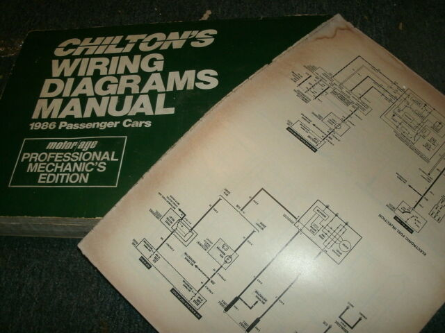 1986 Pontiac 6000 Oversized Wiring Diagrams Schematics
