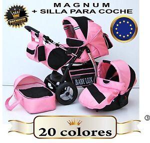 Magnum cochecito carrito bebe silla para coche 14 for Precio de silla bebe para coche