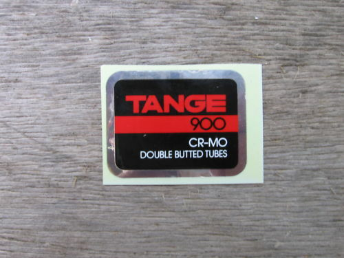 Tange 900 Cro Mo Tube Decal Sticker Not Remade!!
