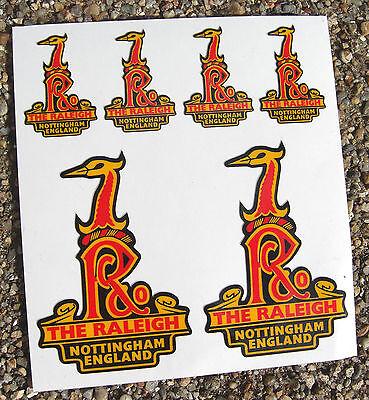 Raleigh Vintage Stil Fahrrad Schachtturm Sticker