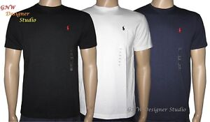 RALPH-LAUREN-POLO-DESIGNER-MENS-T-SHIRT-TEE-Size-S-M-L-XL-100-AUTHENTIC