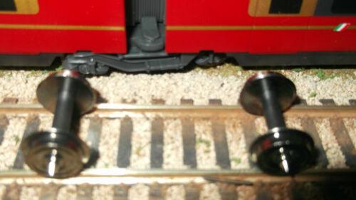2 assali con ruote in metallo LIMA L600869