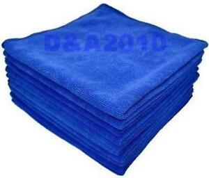 Blue-16-034-x16-034-Microfiber-Towel-Cleaning-Cloth-ultra-absorbent-Car-Micro-fiber