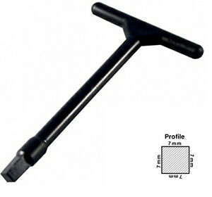 Spare Loft Hatch Key And Access Panel Plastic Door Key