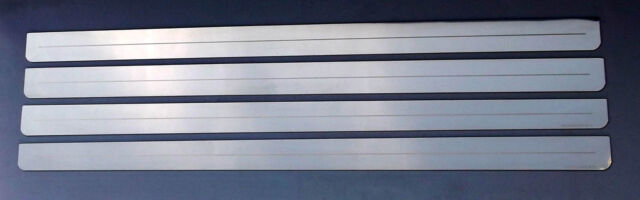 VW UP! / Skoda Citigo / Seat Mii 2 Door Stainless Sill Protectors / Kick Plates