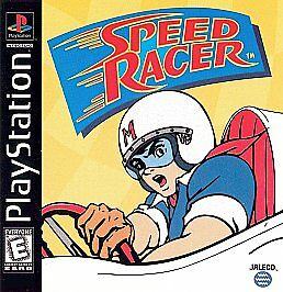 Speed Racer NEW factory sealed black label Sony PlayStation 1 PSX PS1